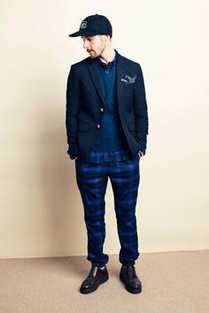 #blue #fashion