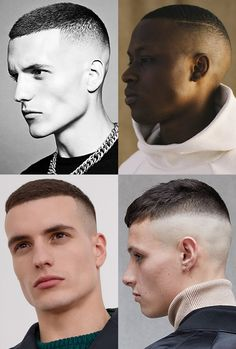 Men's High and Tight Hairstyles and Cuts