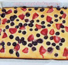 Jogurtový koláč s ovocím