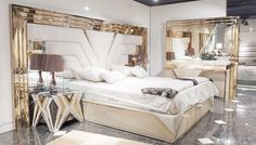 New Bed Designs, New Beds, Luxury, Interior, Metal, Furniture, Home Decor, Decoration Home, Indoor