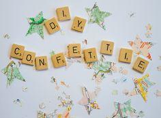 DIY: confetti maken - DIY confetti- http://www.galerie-lucie.nl/