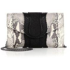 C¨¦line Pre-owned C¨¦line Python Edge Bag ($2,495) ? liked on ...