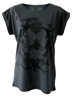 A is for Arsenic — Vanitas Ladies Grey Shirt