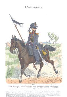 Vol 10 - Pl 39 - Preußen. Ulan vom Königl. Preußischen von Lützow'schen Freikorps. 1813.