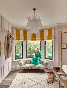 lilac bedroom//Inside Matilda Goad's London home Lilac Bedroom, Small Room Bedroom, Bedroom Decor, Bedroom Ideas, Best Bedroom Paint Colors, Hotel Interiors, Bay Window, Matilda, Home Renovation