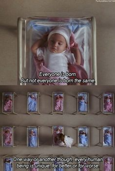 """Everyone is born, but not everyone is born the same. ... One way or another, though, every human being is unique and special, for better or for worse"" - Narrator (Matilda)"
