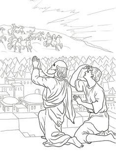 Elisha s servant sees a fiery army ii kings 6
