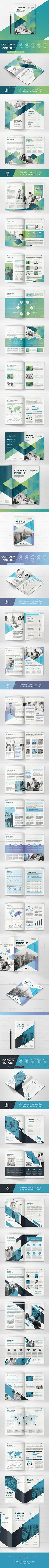 Bundle Company Profile This brochure can serve multiple purposes. It works great as a corporate identity brochure – for presenting your business, services, newest cases and more. Or use it to present a specific product. Or something completely different.