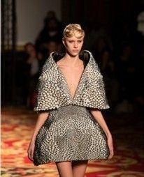 Wearable 3D Printed Dress at Paris Fashion Week - Iris van Herpen Show
