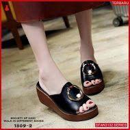 Dfan3132s133 Sepatu Ss24 Wedges 7cm Wanita Wedges Murah Casual