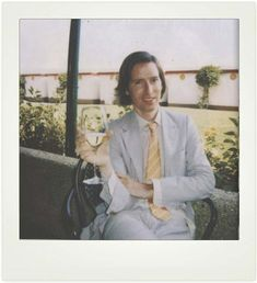 Wes Anderson | 26 Fascinating Polaroids Of Celebrities