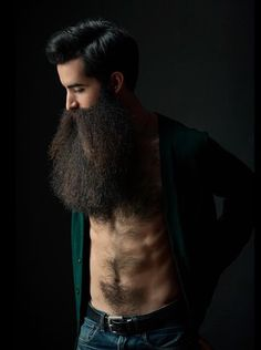 for men who love long bearded men Great Beards, Awesome Beards, Beard Styles For Men, Hair And Beard Styles, Hairy Men, Bearded Men, Moustaches, Bart Tattoo, Beard Tips