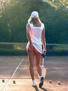 Athena's famous tennis bum