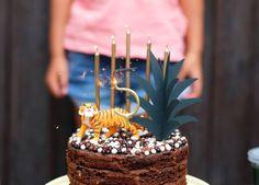 Mon anniversaire de petit lion sur le thème de la Jungle ! - Save The Deco Korma, Caramel Apples, Cake, Lion, Party, Desserts, Deco, Voici, France