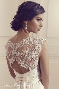 Anna Campbell Wedding Dress Collection | Bridal Musings Wedding Blog 22