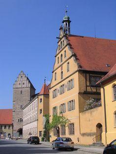Dinkelsbühl - Germany - Rothenburger Tor und Spital