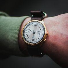 Original vintage Soviet <b>watch</b> Poljot, White wris <b>watch</b>, <b>Mens watch</b> ...