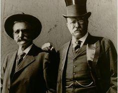 Seth Bullock, Deadwood Sheriff; President Theodore Roosevelt