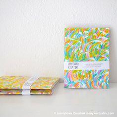 Set of 3 Handmade Notebooks Illustration Cover by Leenykova Notebook Art, Handmade Notebook, Notebooks, Illustration Art, Cover, Etsy, Design, Notebook, Blankets