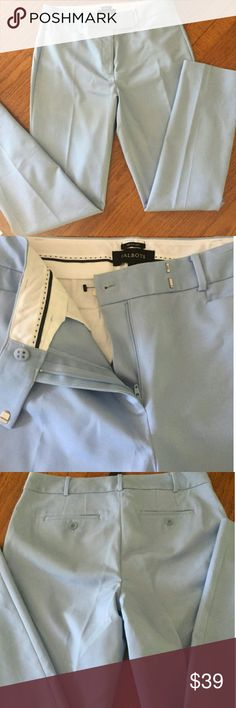 "TALBOTS ""NEWPORT"" PANTS! GORGEOUS! Brand new. Baby blue color. Final drop! Talbots Pants"