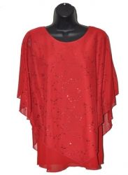 Red Leaf Pattern Poncho Top  $33 Poncho Tops, Baby Steps, Chiffon Skirt, College Fashion, Plus Size, Elegant, Floral, Skirts, Pattern
