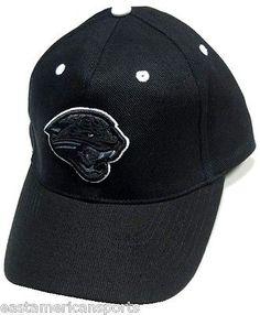 Jacksonville Jaguars NFL Sideline Hat Cap Black Out Gray White Logo Adult OSFA