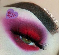 Makeup Geek, Makeup Inspo, Makeup Inspiration, Makeup Ideas, Kiss Makeup, Makeup Art, Hair Makeup, Crazy Eyeshadow, Piercings