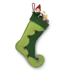 Elf Boot Stocking Craft