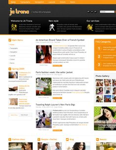 JA Trona - Getting closer to Joomla Web 2.0 design
