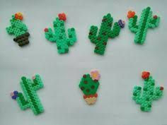 Image result for cactus hama beads