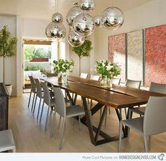 15 Modern Dining Room Designs
