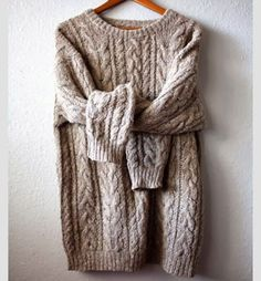 Comfy sweater.