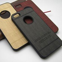 for iphone 4 case wood skin with hard PC cover case for iphone 4s classical…