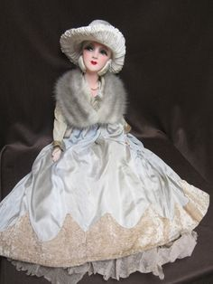 "All Original 30"" French Silk Boudoir Doll"