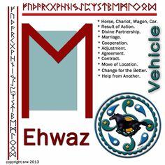 Ehwaz rune love