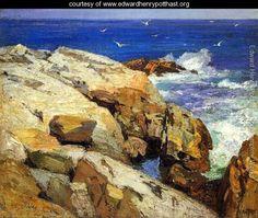 The Maine Coast - Edward Henry Potthast - www.edwardhenrypotthast.org