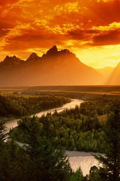 Grand Teton National Park, Wyoming beautiful landscapes breathtaking view places i want to go