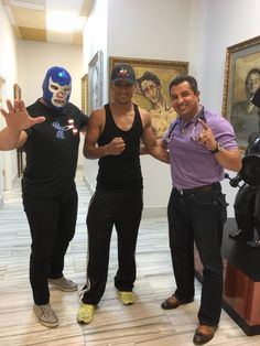 "BLUE DEMON JR. APOYANDO A ""MACIZO"" FERMAN"