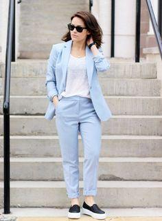 Éste es el traje de chaqueta que debes tener esta primavera- ElleSpain