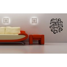 Beautiful design Miracles Happen Every Day Wall Art Sticker Decal