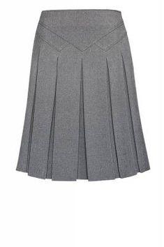 Tweed skirt.