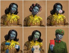How Joe Giacomet created his version of Tretchikoff s Chinese Girl   Photographer Joe Giacomet has just created this stunning and entertaining series of images parodying Tretchikoff s Chinese Girl When COY! Communications needed an image to show off the talent of their resident make-up artist Saskia Laroque Rothstein-Longaretti the obvious solution was to enroll their very own Chinese Girl (from Croydon) AKA graphic designer Miss Kate Henderson. Inspired by the most popular portrait of the…