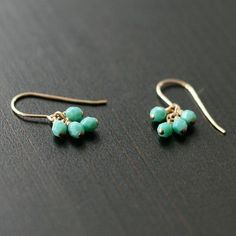 Pretty little earrings - and easy to make