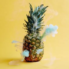 The Secret Lives of Fruits and Vegetables by photographer/pyrotechnician Maciek Jasik. The modern world has separated us from the origins and uses of fruits and vegetables; we know them only for the flavors and textures they provide. Until only very recently, each held its own mystique, mythology, symbolism and connection to the culture and afterlife. This series aims to reintroduce these mystical, invisible qualities that have been lost amidst the clamor of nutritional statistics.