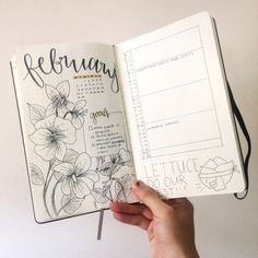 Artsy flowers for a new month