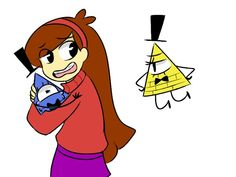 MaBill | Bill Cipher\Mabel Pines| Gravity Falls | VK<<< yep. i'm Mable in this.