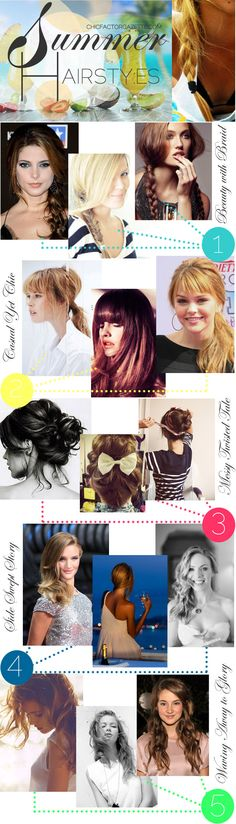 The Ultimate Summer Hairstyle Guide!