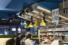 grocery small-format tile signage The Good Kitchen's branding is designed to be synonymous with delicious meals eaten right there in-store. With this new sub-branding rolled out across serving elements, digital menus and packaging, the result is a branded food experience with an inviting tone of voice that makes it totally irresistible.