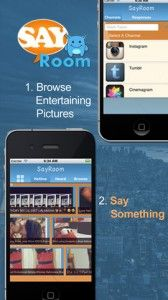 SayRoom - This is a cool app that allows you to respond to social media happenings using more than just written word. That's right, you can actually use your voice! It allows you to post audio responses to your favorite social media happenings. While this seems like something that's fairly out of the ordinary, it's actually a pretty cool idea once you warm up to it. One cool feature we really liked is the ability to add audio hashtags to your reaction. Click the image for our full review.
