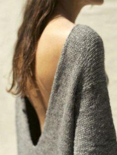 knitGrandeur  Take the Plunge Ouverture, Mode Monochrome, Robe Pull, Mode  Automne Hiver 34e15593fa10